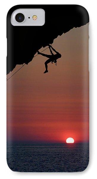Sunrise Climber Phone Case by Neil Buchan-Grant