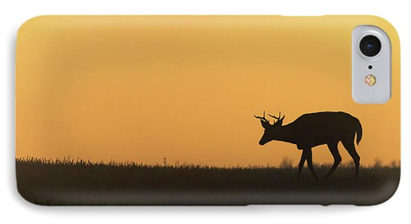 Sunrise Deer IPhone Case