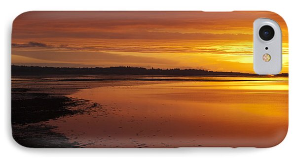 Sunrise Dornoch Firth Scotland IPhone Case by Sally Ross