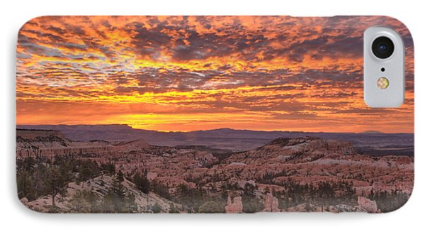 IPhone Case featuring the photograph Sunrise Explosion by Stephen  Vecchiotti