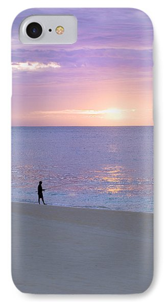 Sunrise Fisherman 2 IPhone Case