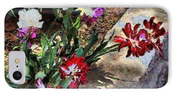 Sunrise Garden Phone Case by RC deWinter