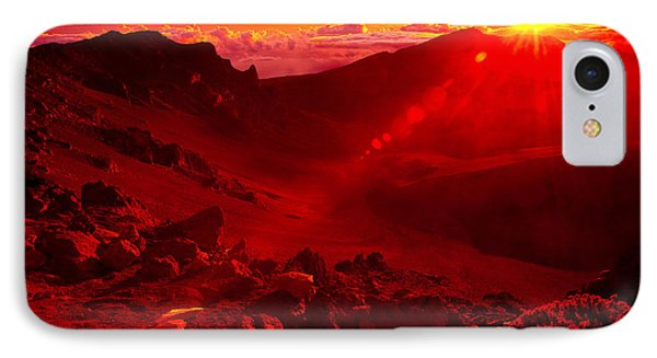 Sunrise Haleakala IPhone Case by Harry Spitz