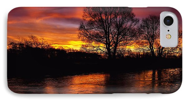 IPhone Case featuring the photograph Sunrise II by Franziskus Pfleghart
