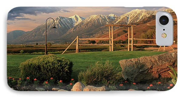 Sunrise In Carson Valley Phone Case by James Eddy