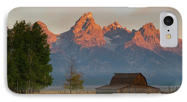 IPhone Case featuring the photograph Sunrise In Jackson Hole by Steve Stuller