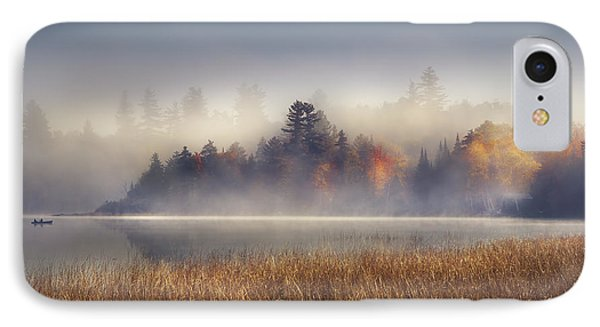 Sunrise In Lake Placid  IPhone 7 Case by Magda  Bognar