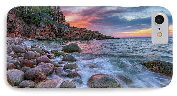 Sunrise In Monument Cove IPhone Case by Rick Berk