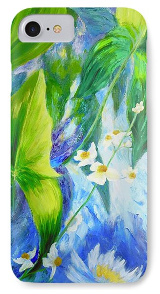 Sunrise In My Garden IPhone Case by Irene Hurdle