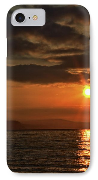 IPhone Case featuring the photograph Sunrise In Portland by Baggieoldboy