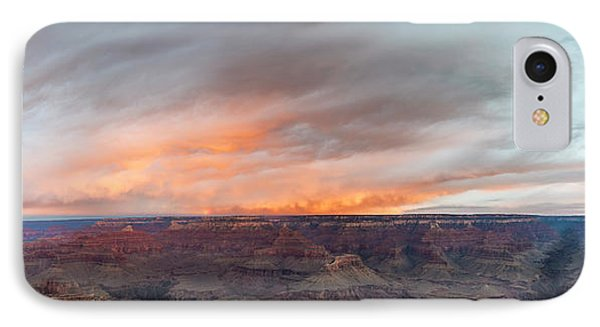 Sunrise In The Canyon IPhone Case by Jon Glaser