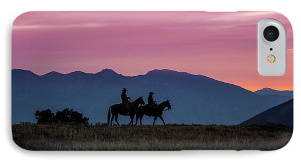 Sunrise In The Lost River Range Wild West Photography Art By Kay IPhone Case by Kaylyn Franks