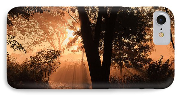 Sunrise In The Marsh 3 IPhone Case by Joni Eskridge