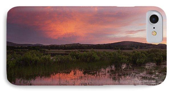 Sunrise In The Wichita Mountains Phone Case by Iris Greenwell