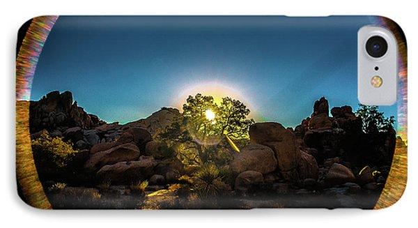 Sunrise Joshua Tree National Park IPhone Case by Timothy Kleszczewski