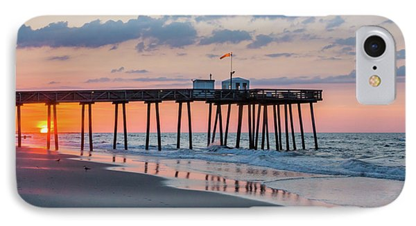 Sunrise Ocean City Fishing Pier IPhone Case