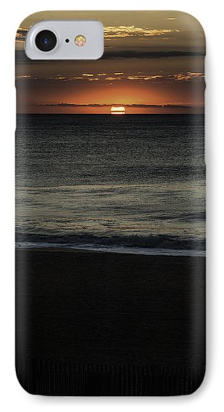 Sunrise Ocean City IPhone Case by Jim Moore