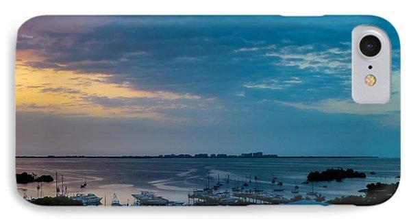 Sunrise On Biscayne Bay IPhone Case by Frank Mari