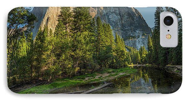 Sunrise On El Capitan IPhone 7 Case by Peter Tellone
