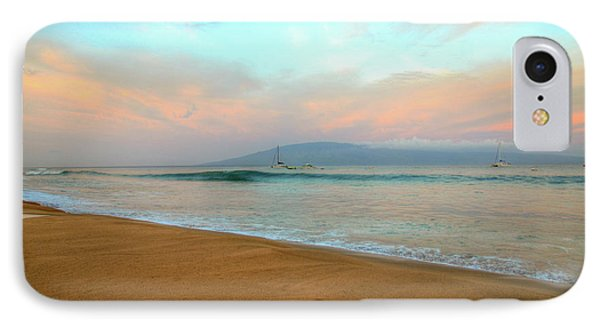IPhone Case featuring the photograph Sunrise On Ka'anapali by Kelly Wade