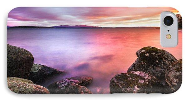 Sunrise On Lake Winnipesaukee IPhone Case