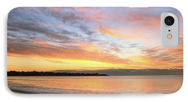 Sunrise On Middletown Rhode Island IPhone Case by Roupen  Baker