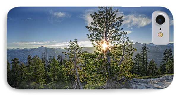 Sunrise On Sentinel Dome IPhone 7 Case by Rick Berk