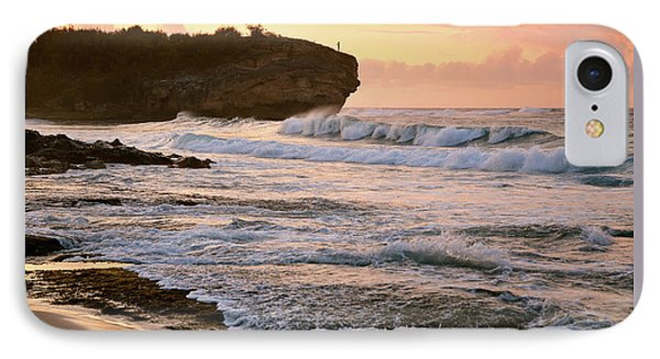 Sunrise On Shipwreck Beach IPhone Case by Marie Hicks