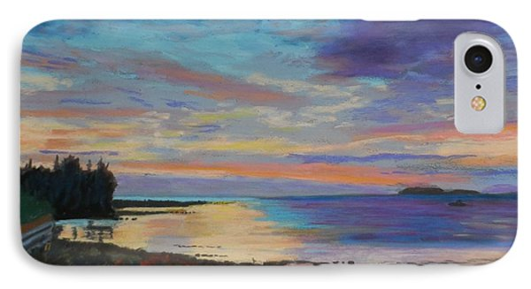 Sunrise On Tancook Island  IPhone Case by Rae  Smith PAC