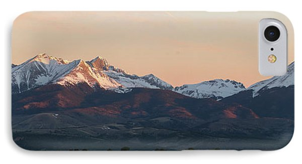 Sunrise On The Blanca Group IPhone Case by Aaron Spong