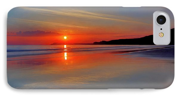 IPhone Case featuring the photograph Sunrise On The Coast by Roy McPeak