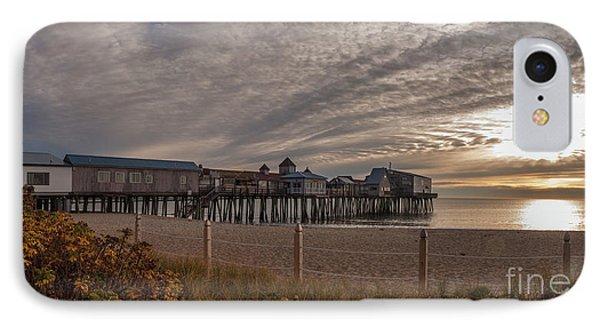 Sunrise On The Empty Beach IPhone Case