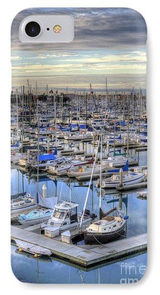Sunrise On The Harbor IPhone Case