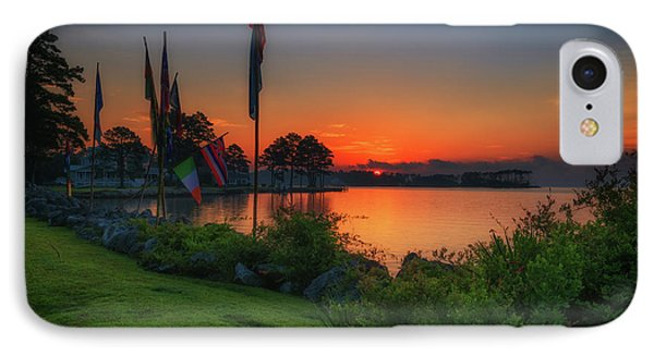 Sunrise On The Neuse 2 IPhone Case