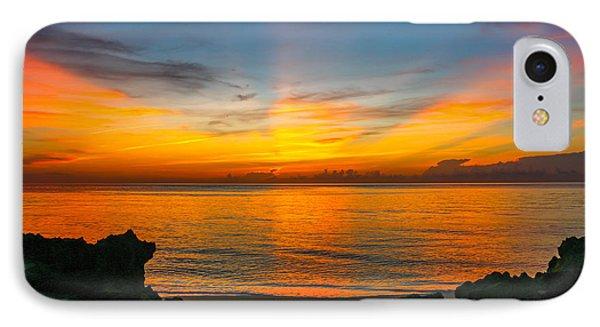 Sunrise On The Rocks IPhone Case