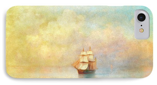 Sunrise On The Sea IPhone Case by Georgiana Romanovna