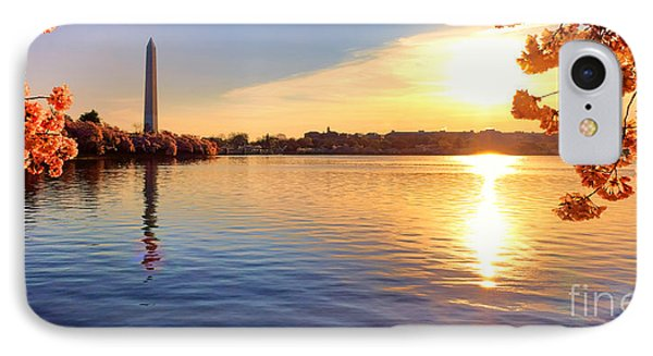 Sunrise On The Tidal Basin IPhone Case