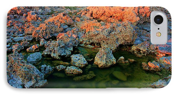 Sunrise On Tufa 2 IPhone Case by Sean Sarsfield