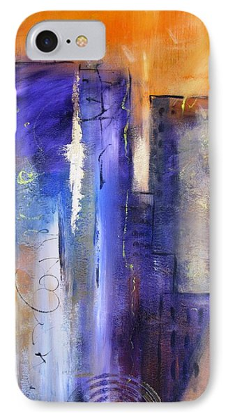 Sunrise On Twin Towers IPhone Case
