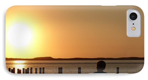 IPhone Case featuring the photograph Sunrise Over Assateaque by Donald C Morgan