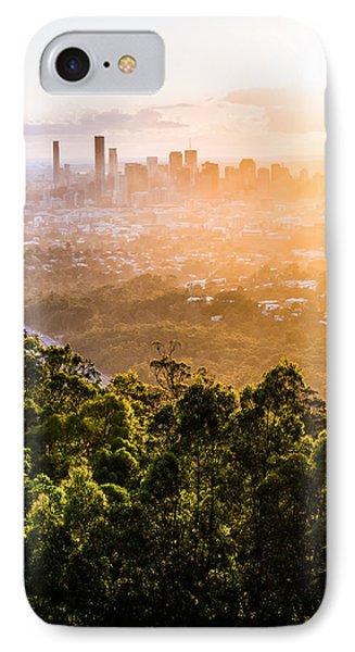 Sunrise Over Brisbane Phone Case by Parker Cunningham