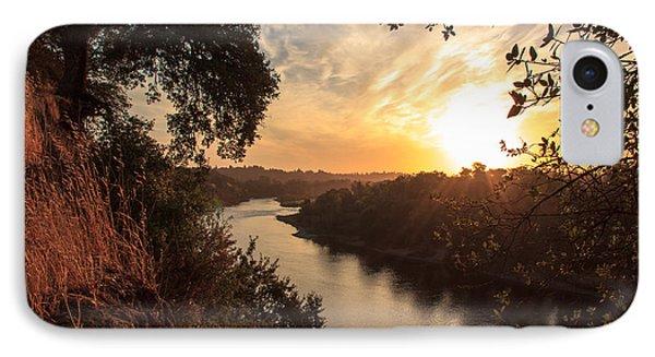 Sunrise Over Fair Oaks Phone Case by Randy Wehner Photography