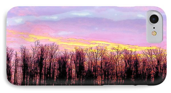 Sunrise Over Lake IPhone Case by Craig Walters