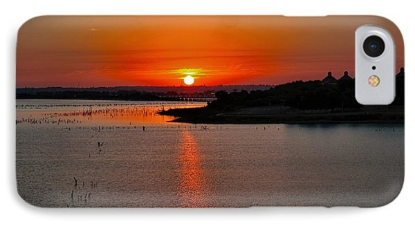 IPhone Case featuring the photograph Sunrise Over Lake Ray Hubbard by Diana Mary Sharpton