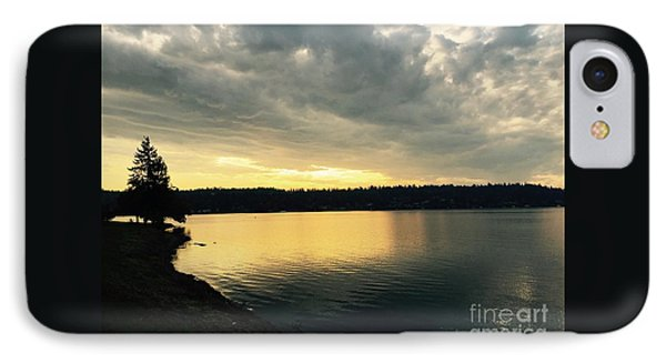 Sunrise Over Lake Washington IPhone Case