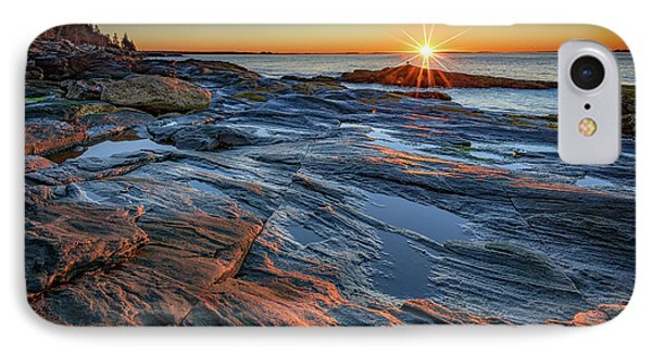 Sunrise Over Muscongus Bay IPhone Case by Rick Berk