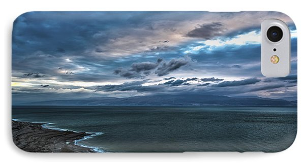Sunrise Over The Dead Sea Israel Phone Case by Reynold Maines