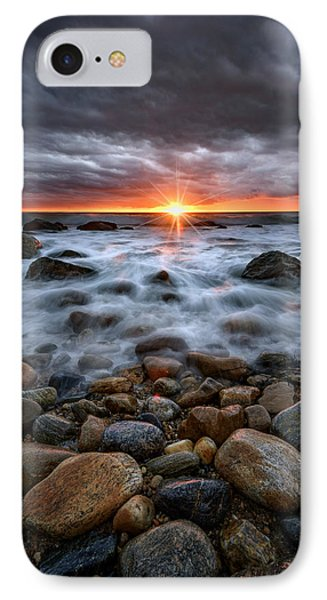 Sunrise Over The East End IPhone Case by Rick Berk