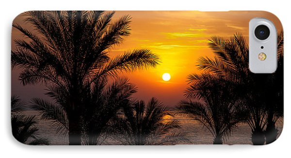 Sunrise Over The Red Sea Phone Case by Jane Rix