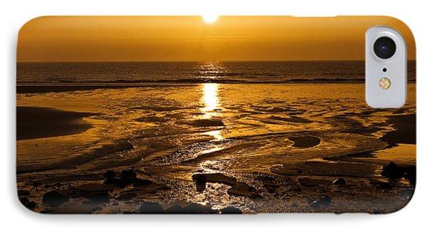 Sunrise Over The Sea Phone Case by Svetlana Sewell